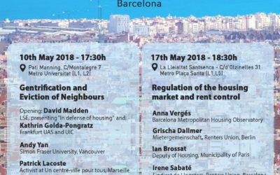 Conferencia sobre el Derecho a la Ciudad en Barcelona