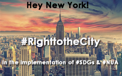 The Right to the City in New York