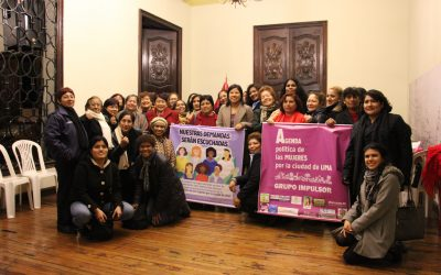 Women's Political Agenda for the City of Lima
