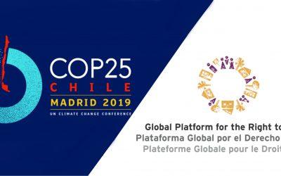 La PGDC en la COP25