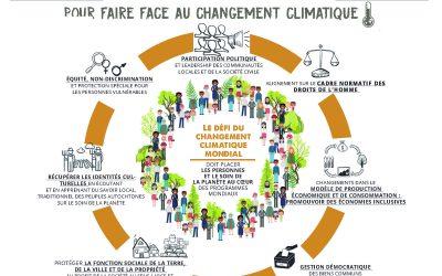 La PGDV se joint à la mobilisation mondiale pour l'action climatique lors de la COP25