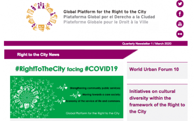 Right to the City News March 2020