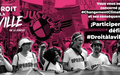 TECHO et la PGDV présentent le Défi artistique: Droit à la Ville par la jeunesse