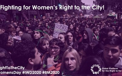 Fighting for Women's Right to the City!