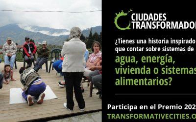 Convocatoria abierta para el Premio Ciudades Transformadoras 2020