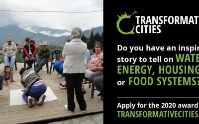 Lancement de l'appel à candidatures pour l'Initiative des Villes Transformatrices 2020