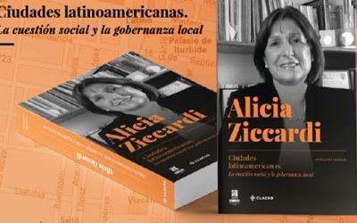 Nuevo libro: «Ciudades latinoamericanas. La cuestión social y la gobernanza local»