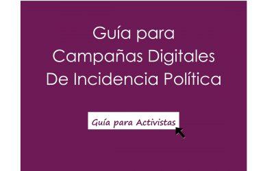 Guía para campañas digitales de incidencia política