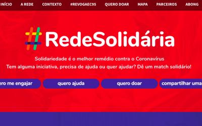 Rede Solidária: conectando iniciativas para proteger a cidadania frente à COVID-19