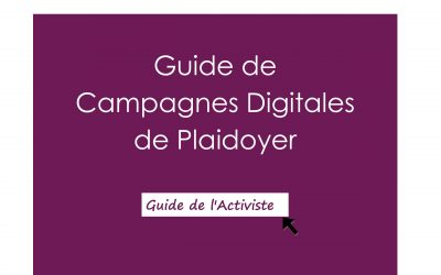 Guide de campagnes digitales de plaidoyer