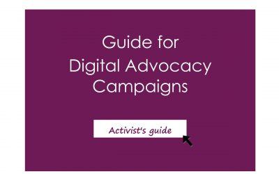 Guide to digital advocacy campaigns
