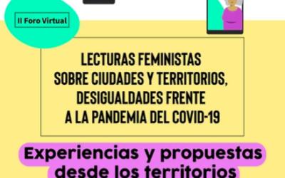 (Webinar) «Lecturas feministas sobre ciudades y territorios frente al COVID-19»