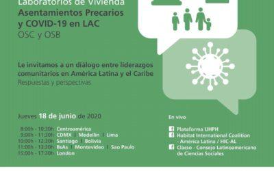 Organisation communautaire : Première ligne de l'habitat urbain pour la réponse et la récupération de la crise actuelle