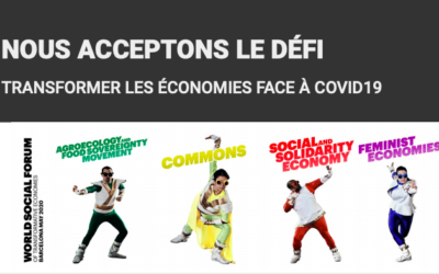 NOUS ACCEPTONS LE DEFI : TRANSFORMER LES ECONOMIES FACE AU COVID 19
