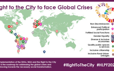 GPR2C called for implementing the Right to the City approach to face global crises at the HLPF 2020