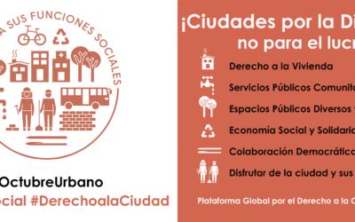 ¡Ciudades por la Dignidad, no para el lucro!