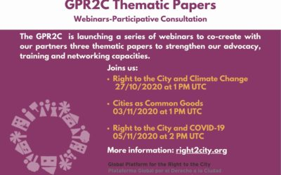 GPR2C Thematic Papers