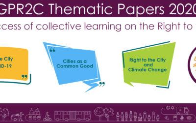 La creación de los documentos temáticos de la PGDC