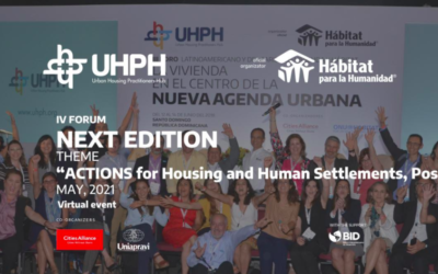 IV Forum: Actions for housing and Human Settlements pos-COVID19