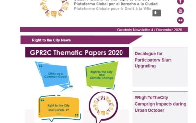 Right to the City News-December 2020