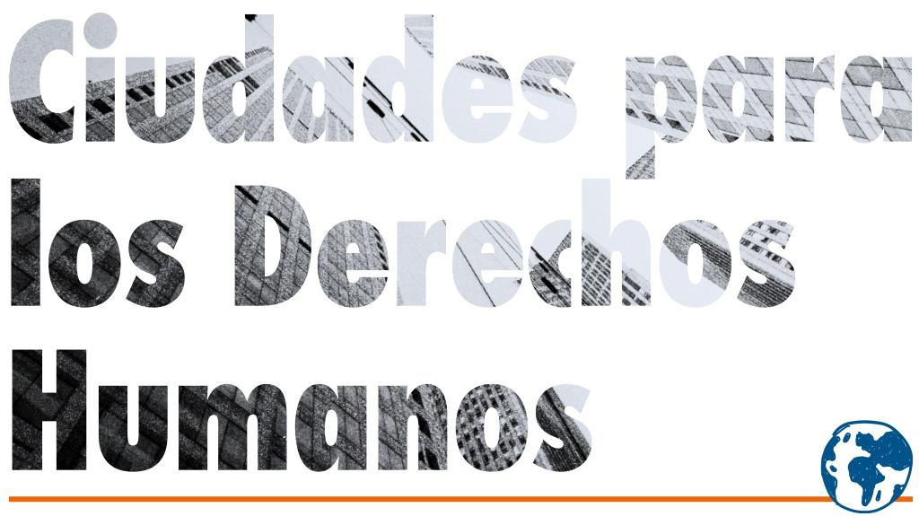 Banner Ciudades para los Derechos Humanos