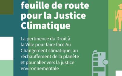 Droit à la Ville: Feuille de route pour la Justice Climatique