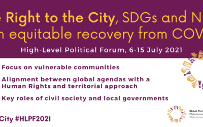 The GPR2C at the High-Level Political Forum 2021