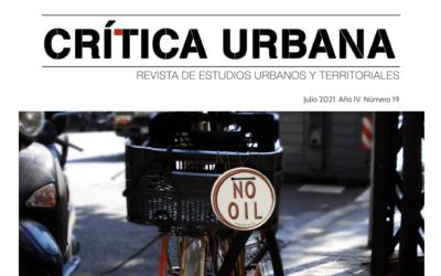¡Nuevo número de la Revista Crítica Urbana con la que colaboramos!