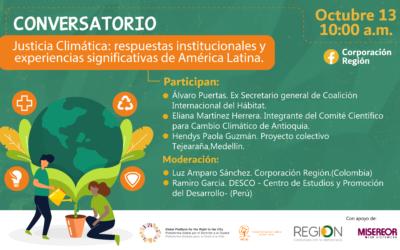 [EN ESPAGNOL] Justice climatique : réponses institutionnelles et expériences significatives d'Amérique Latine